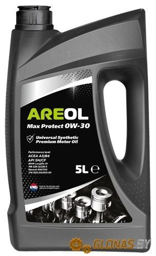 Areol Max Protect 0W-30 5л