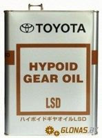 Toyota Hypoid Gear Oil 85W-90 4л