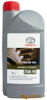 Toyota Universal Synthetic 75W-90 GL4/5 1л