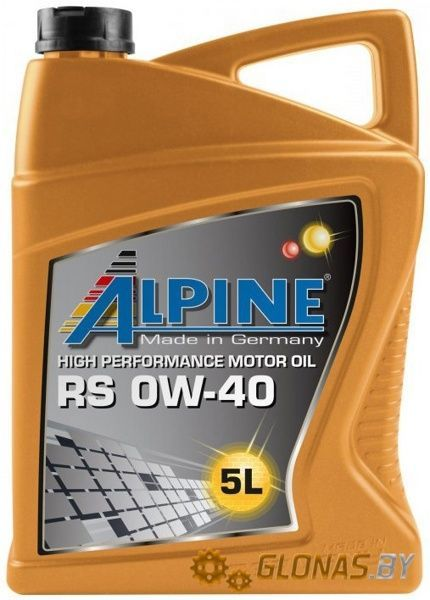 Alpine RS 0W-40 5л