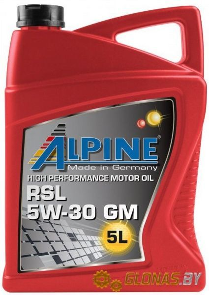Alpine RSL 5W-30 GM 5л