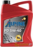 Alpine PD 5W-40 5л