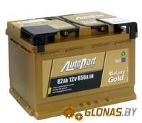 AutoPart Galaxy Gold GD820 R+ (82Ah)