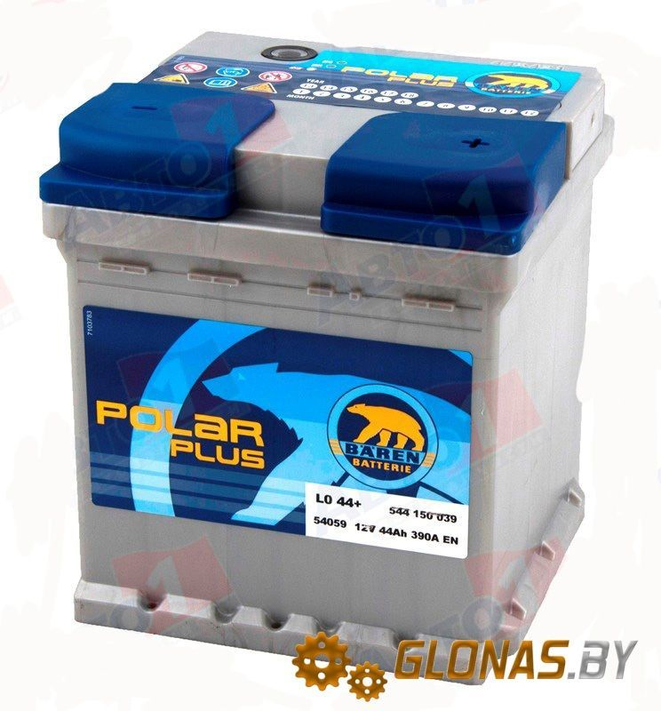 Baren Polar Plus 544150 (44Ah)