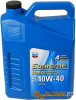 Chevron Supreme Motor Oil 10W-40 3.785л