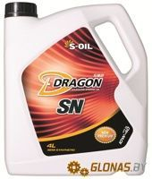 S-Oil Dragon SN 10W-40 4л