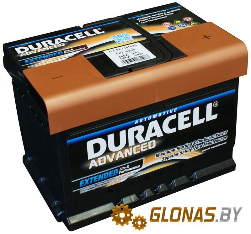 Duracell Advanced R+ (62Ah)