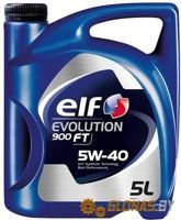 Elf Evolution 900 FT 5W-40 5л