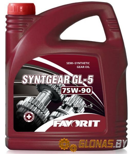 Favorit Syntgear GL-5 SAE 75W-90 4л