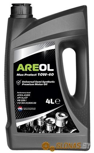 Areol Max Protect 10W-40 4л