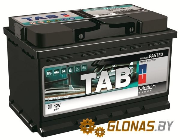Tab Motion Pasted 85P (105Ah)