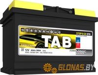 Tab Magic Stop&Go EFB R+ (60Ah)