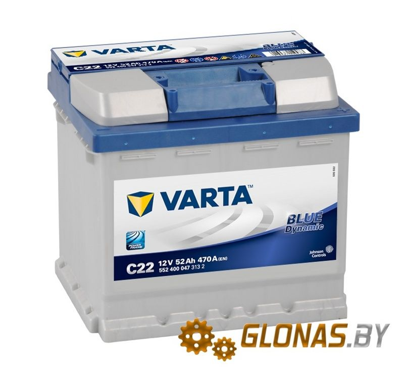 Varta Blue Dynamic C22 (52Ah)