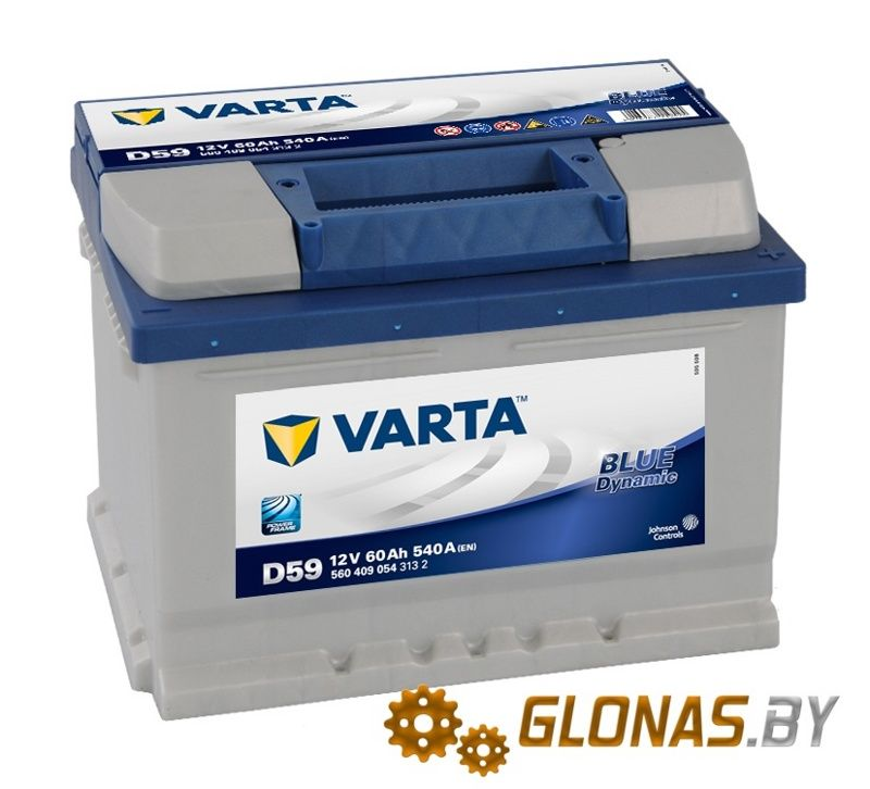 Varta Blue Dynamic D59 (60Ah)
