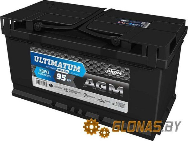 AKOM Ultimatum AGM R (95 А·ч)