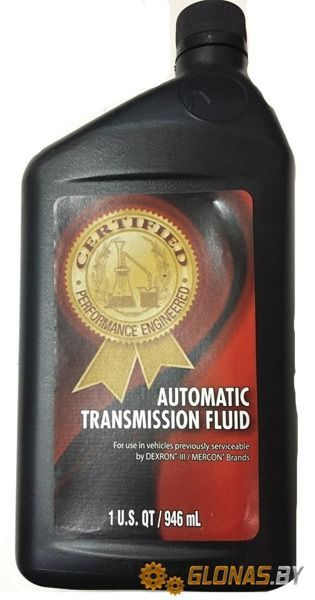 Certified Automatic Transmission Fluid 946мл