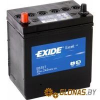 Exide Excell EB357 L+ (35Ah)