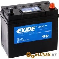 Exide Excell EB454 R+ (45Ah)