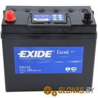 Exide Excell EB455 L+ (45Ah)