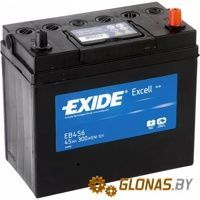 Exide Excell EB456 R+ (45Ah)