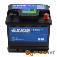 Exide Excell EB500 R+ (50Ah)