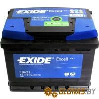 Exide Excell EB621 L+ (62Ah)