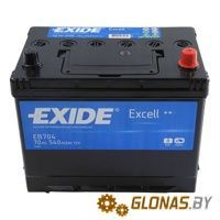 Exide Excell EB704 R+ (70Ah)