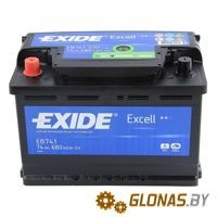 Exide Excell EB741 L+ (74Ah)