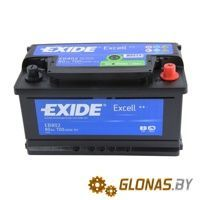 Exide Excell EB802 R+ (80Ah)