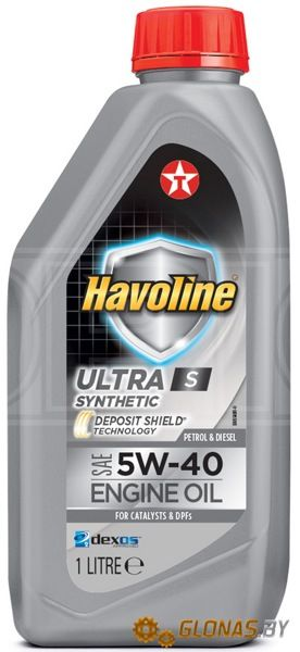 Texaco Havoline Ultra S 5W-40 1л