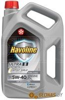 Texaco Havoline Ultra S 5W-40 4л