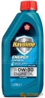 Texaco Havoline Energy 0W-30 1л