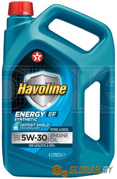 Texaco Havoline Energy EF 5W-30 4л