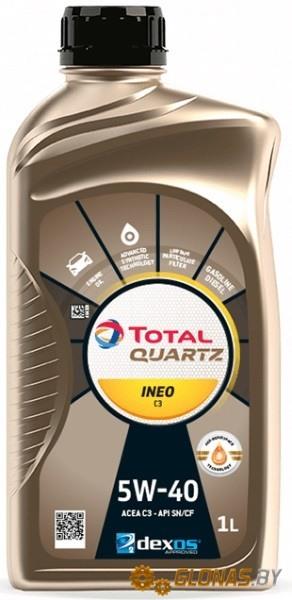 Total Ineo MC3 5W-40 1л